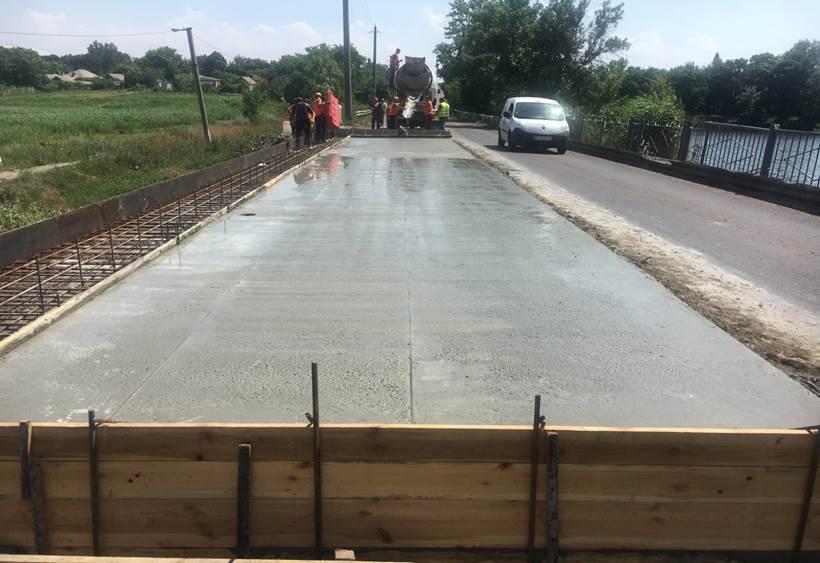 На важнейшей трассе из Павлограда ремонтируют мост (Фото). Новости Днепра