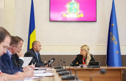 Светличная провела прием граждан в региональном филиале «Укрзалізниці»