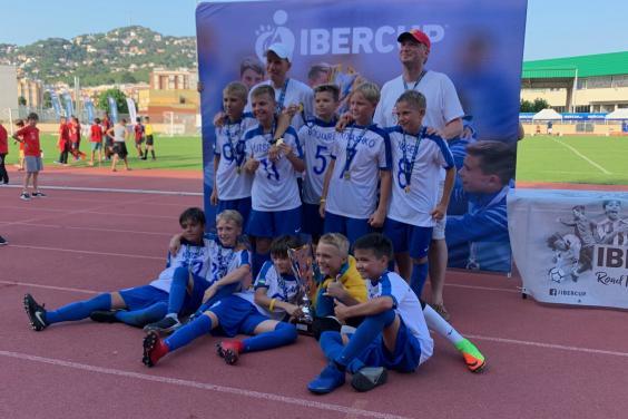 Юные харьковчане завоевали кубок Iber Cup Barcelona