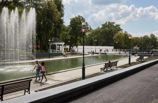 Ко Дню города в саду Шевченко откроется новый фонтан