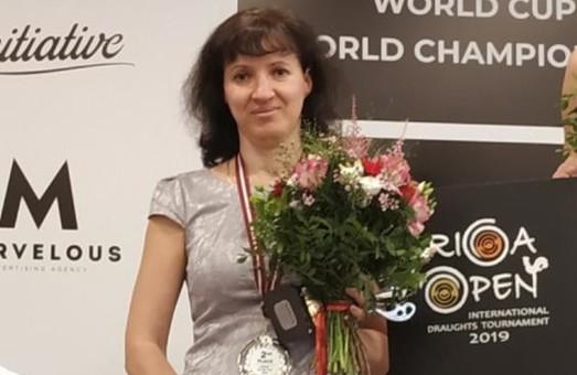 Харьковчанка Юлия Макаренкова – серебряный призер этапа Кубка мира по шашкам