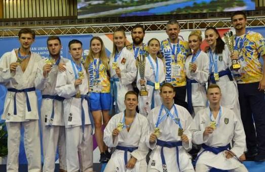 Харьковские студенты завоевали медали First European Universities Combat Games