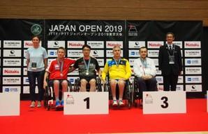 Харьковские паралимпийцы завоевали медали на теннисном турнире в Токио