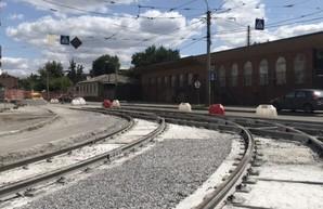 Завершается реконструкция перекрестков на улице Гольдберговской