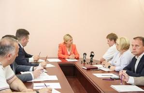Светличная пообщалась с руководством и коллективом «Жилстроя-1»
