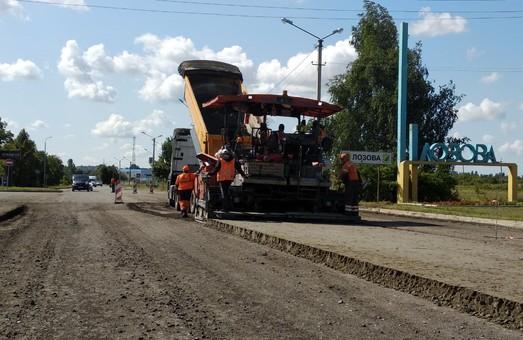 На трассе Мерефа-Лозовая-Павлоград полностью обеспечен проезд до Лозовой - САД