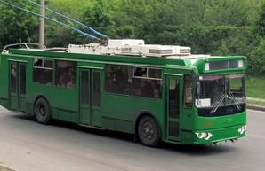 На улице Гвардейцев Широнинцев запрещено движение троллейбусов