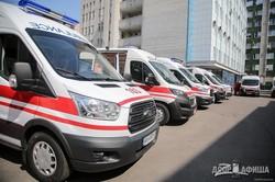 Светличная передала областной больнице ключи от новых «скорых» (ФОТО)