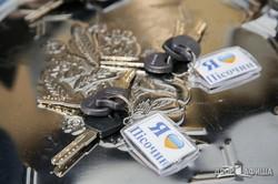 Светличная вручила ключи от социального жилья детям-сиротам (ФОТО)