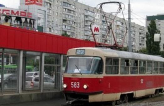 Три харьковских трамвая на два дня меняют маршруты движения