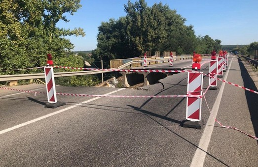 Эксперты установили причину обрушения моста на подъезде к аэропорту «Харьков» - САД