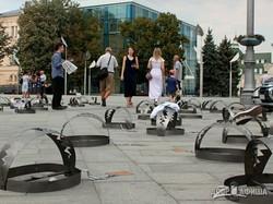 В центре Харькова проходит акция «Узники Кремля» (ФОТО)