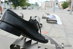 В центре Харькова проходит акция «Узники Кремля»