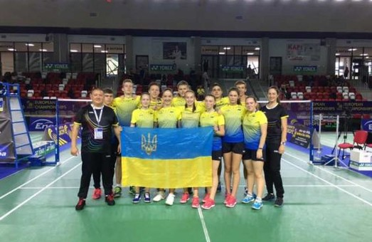 Харьковские бадминтонисты стали бронзовыми призерами чемпионата Европы