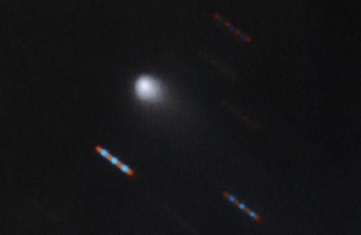 Первая межзвездная комета. И установили, что она является именно межзвездной, именно харьковские астрономы