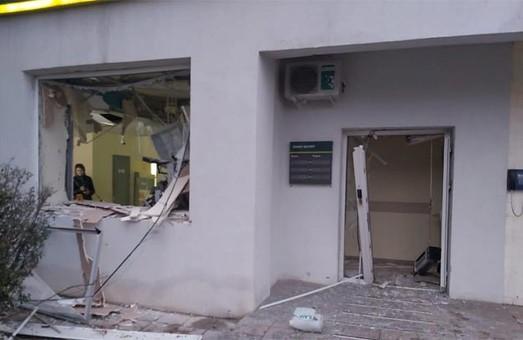 Взрыв в отделении банка в Харькове: банкомат разнесло на части (ФОТО)