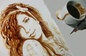 Харьковчане познают тайны кофейной живописи