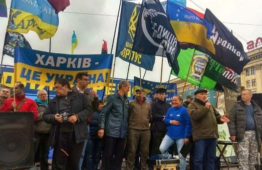 Протесты по стране. Харьков и другие города снова митинговали против «формулы Штайнмайера» (ФОТО, ВИДЕО)