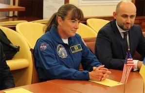 Харьковщину впервые посетила американская астронавтка (ФОТО)
