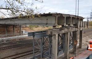 Как продвигается ремонт рухнувшего моста на окружной (ФОТО)