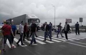 Под Харьковом намечается забастовка на трассе
