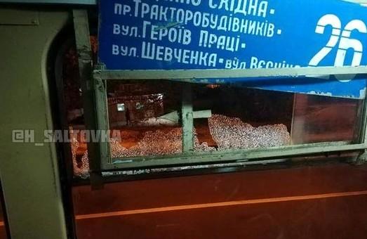 В Харькове открыли стрельбу по трамваю с пассажирами (ФОТО)