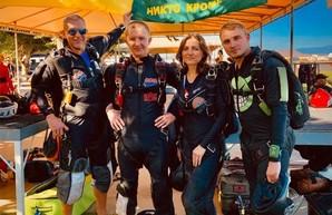 Харьковские парашютисты показали в небе мировой рекорд (ФОТО)