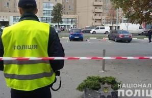 Двух мужчин расстреляли на парковке в Харькове. Один из них скончался (ФОТО, ВИДЕО)
