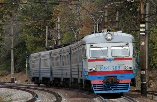 На подъезде к Харькову загорелся поезд