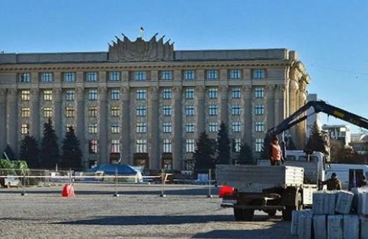 Центр Харькова перекрывают в связи с подготовкой к Новому году