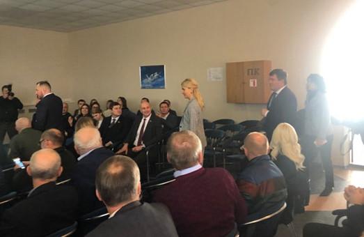 На Харьковский авиазавод, где ждут Зеленского, прибыла Светличная