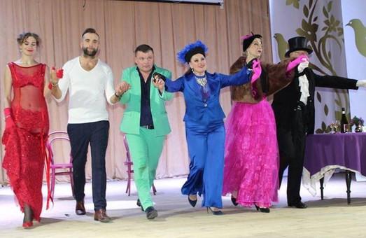 В Краснокутске Юлия Светличная поздравила работников культуры (ФОТО)