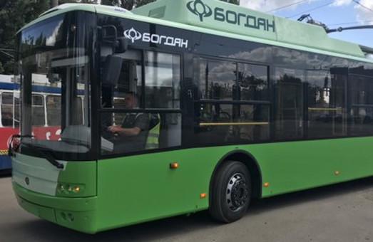 Харьков пополнил автопарк новых троллейбусов