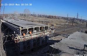 Что показывает веб-камера, установленная возле моста на окружной (ВИДЕО)
