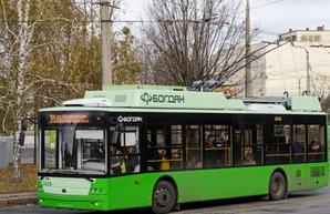 Два харьковских троллейбуса меняют маршруты