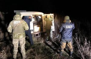 Контрабандисты не смогли убежать от харьковских пограничников (ФОТО)