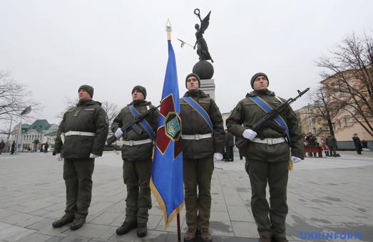 В Харькове нацгвардейцы присягнули на верность украинскому народу (ФОТО)