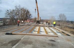 Ремонт поврежденного моста: Открыть движение на Окружной планируется 22 декабря (ФОТО)