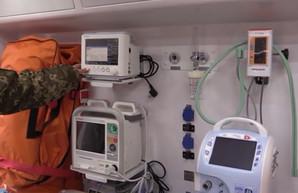 В харьковском госпитале – новый реанимобиль (ВИДЕО)