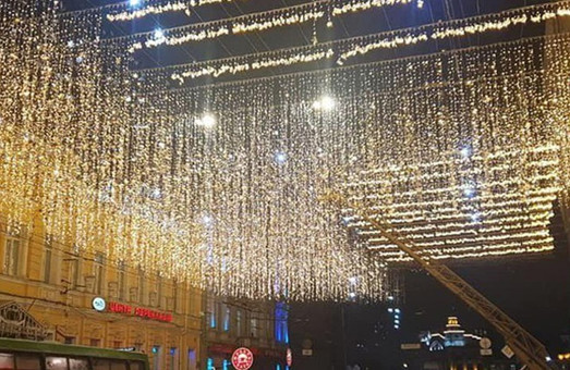 В Харькове заработало «Звездное небо» за 18 миллионов (ФОТО, ВИДЕО)