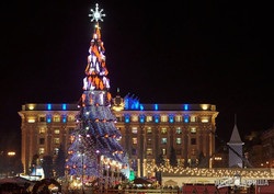 Открытие елки и Харьков-новогодний (ФОТО)