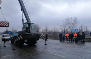 Уложились в сроки. Мост на харьковской окружной открыли после ремонта (ФОТО, ВИДЕО)