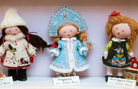 Харьковчан приглашают на выставку кукол