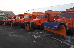 Дороги Харьковщины будут расчищать 10 новых снегоочистителей (ФОТО)