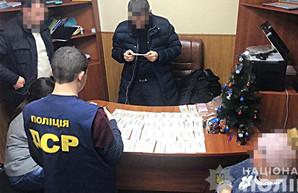 Под Харьковом задержан на взятке заместитель мэра (ФОТО)