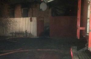 На Харьковщине во время пожара погиб мужчина