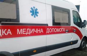 На границе Харьковщины перевернулся микроавтобус: есть пострадавшие