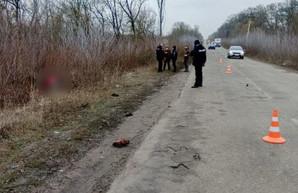 Под Харьковом водитель насмерть сбил пешеходов и сбежал