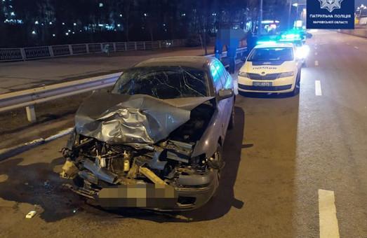 Студент-иностранец врезался в машину депутата харьковской мэрии (ФОТО)