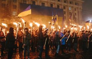 По центру Харькова пройдет факельное шествие